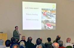Ivor Davey - presenting at conference