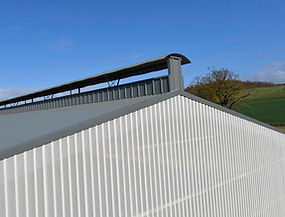Ridge ventilation design for new robot unit