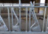 AgriTubel self locks (6m with 9 spaces)