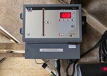 Calf ventilation controller