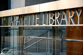 Lafayette Library front sign.JPG