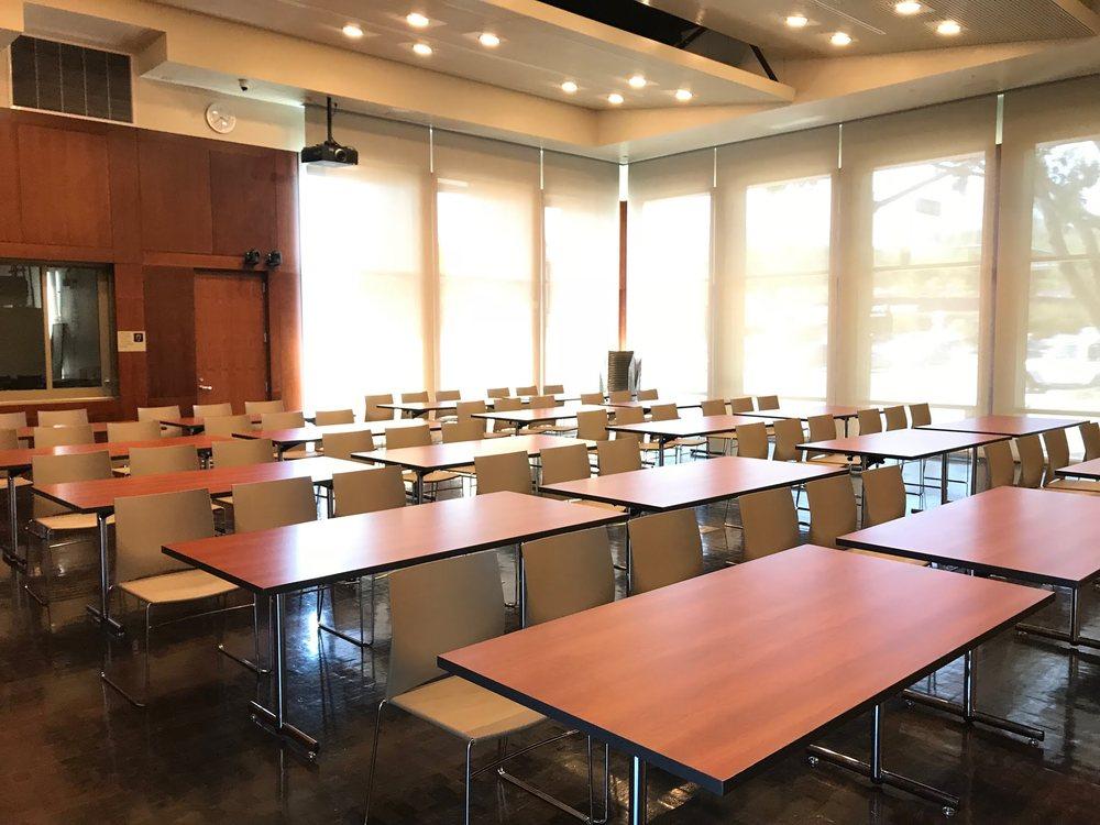 Community Hall Classroom Style Set up