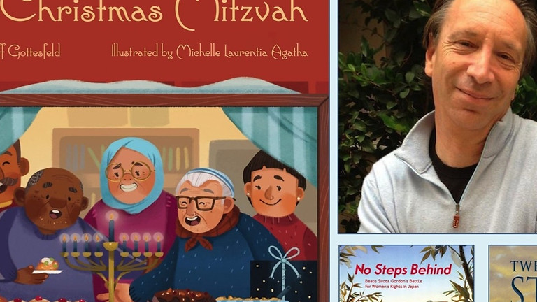 Storytime with author Jeff Gottesfeld:The Christmas Mitzvah