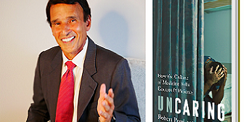 Sweet Thursdays presents Robert Pearl, MD, author of Uncaring: How the Culture of Medicine Kills Doctors and Patients