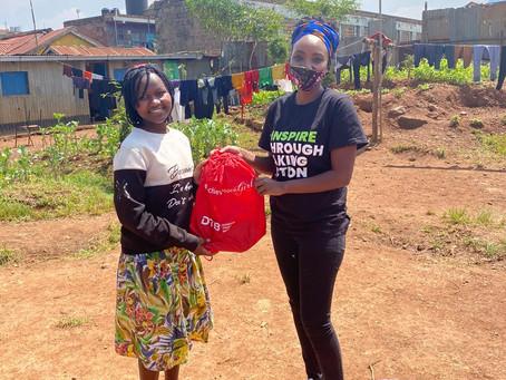 Empowering school girls during Menstrual hygiene day with Wezesha Binti Foundation