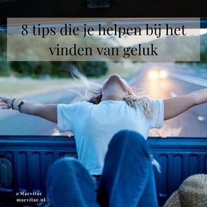 8 tips die je helpen bij het vinden van geluk