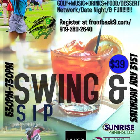 Swing & Sip: Summer Rain Edition