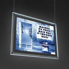 Hanging Crystal LED Sign