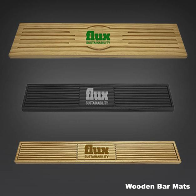 Wood Bar Mats and Runners