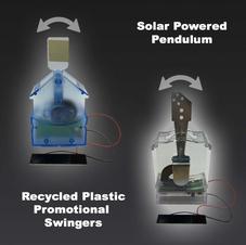 Solar Powered Promotional Pendulum