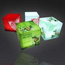 LED Display Cubes