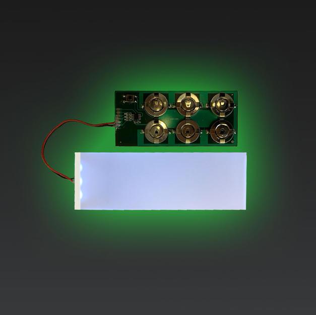 LED Light Guide Panels (LGP) Advertising Strip