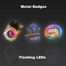 Metal LED Badges