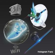 Hologram LED Fan