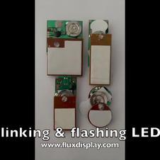 Flashing blinking LEDs