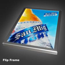 Flip Frame LED Sign