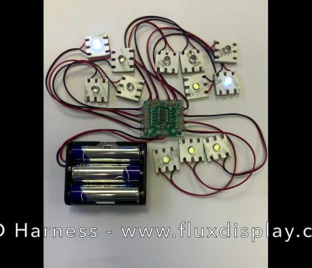 LED Harness POP Parts