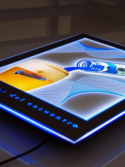 LED Crystal Lightbox