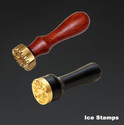 Wooden and Metal Ice Stamps.jpg