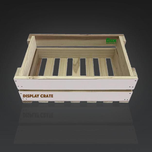 Wood Display Crates
