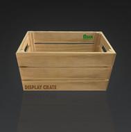 Wooden Display Crate