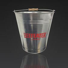 Galvanized Ice Buckets