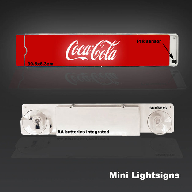Mini Lightsigns - PIR Activation