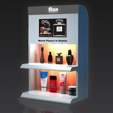 Counter TFT LCD Advertising Movie Player