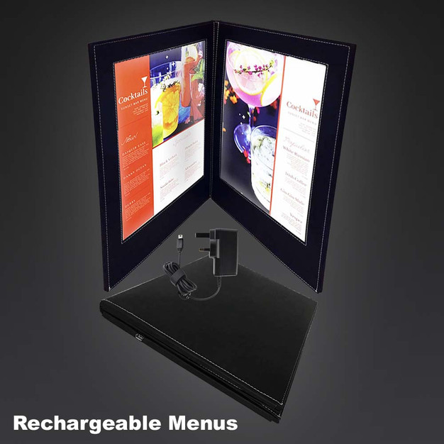 LED Menu Book