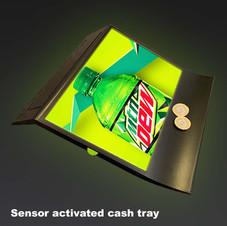 LED Cash Tray