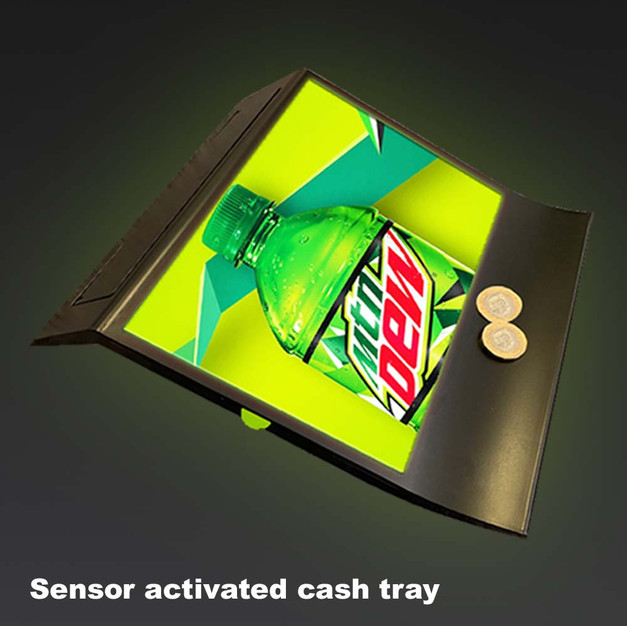 LED Cash Tray