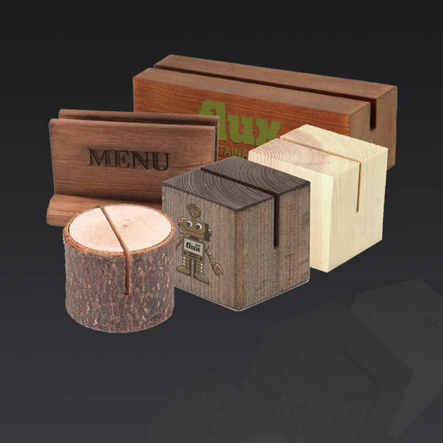 Chalk and Table Menu Holders