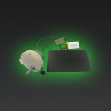Solar Powered Battery Motor