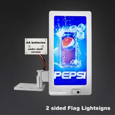 LED Battery Flag Sign