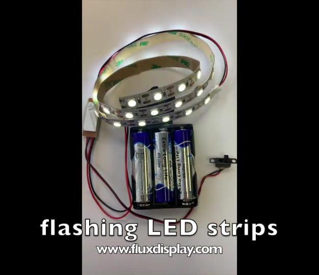 Flashing LED Strips
