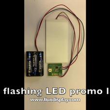 LGP flashing promo label