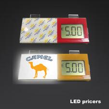 LCD Promotional Shelf Price Display