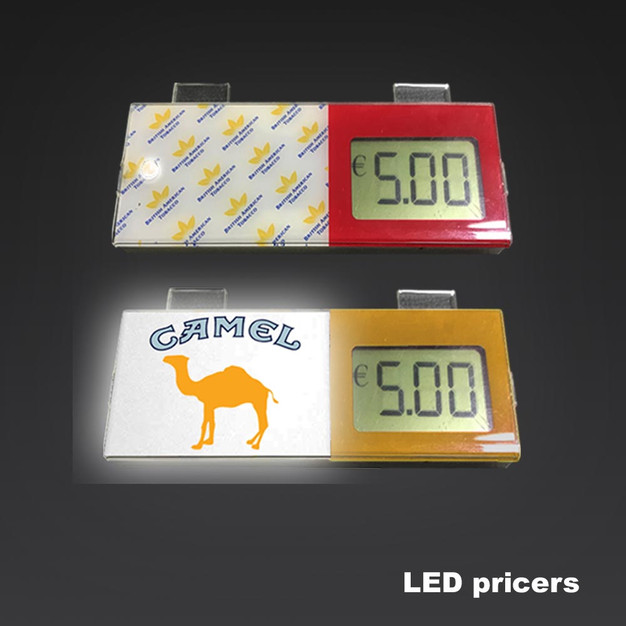 LCD Promotional Shelf Price Display