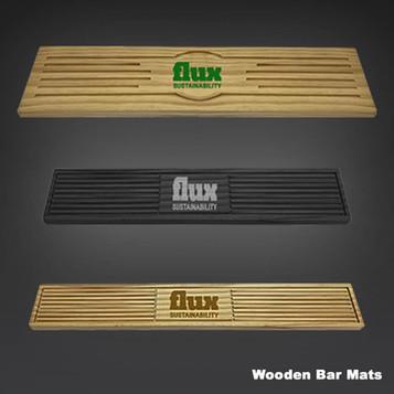 Wooden Bar Mats