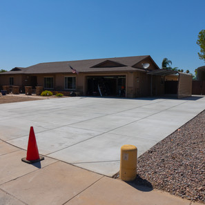 Driveway complete