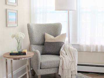 Create a calming sewing space.