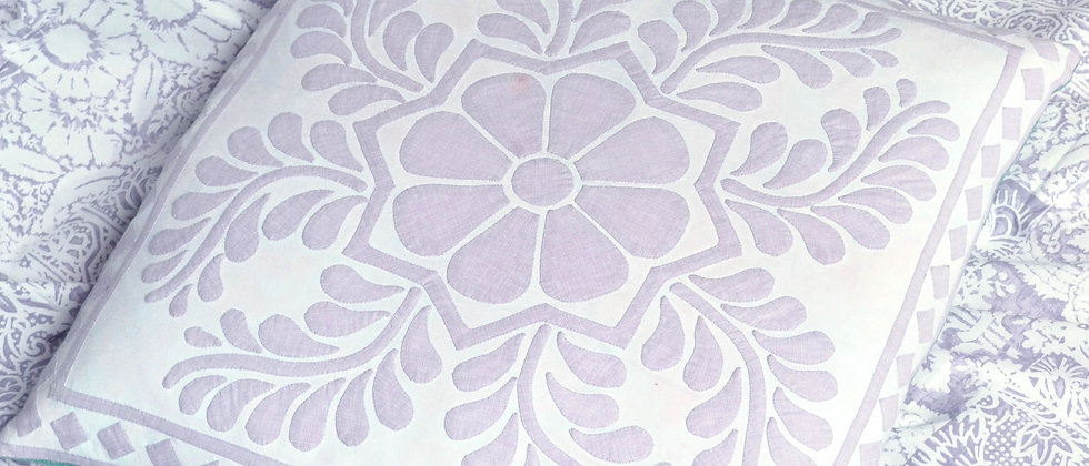 Violet Pearl - Cushion Cover