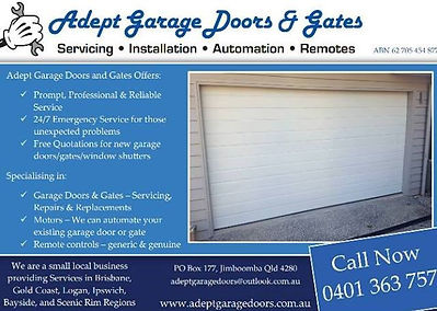 Garage Door Motor|Garage Door Springs|Remotes|Emergency Repairs|Servicing|Safety Check|Gate Repair|Window Shutter Repair