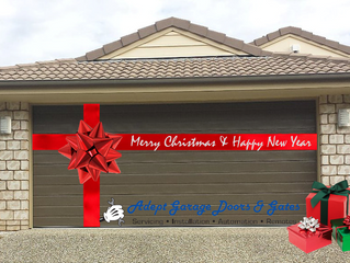Adept Garage Doors and Gates 12 Days of Christmas - 1st Day
