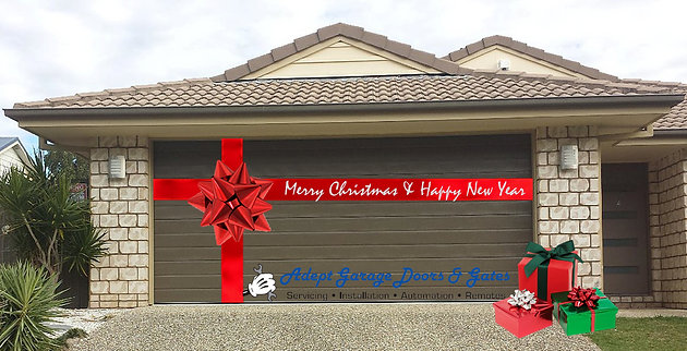 Adept Garage Doors And Gates 12 Days Of Christmas 1st Day Adept