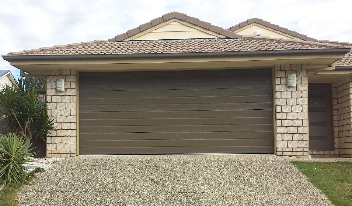 Adept Garage Doors And Gates Slimline Weatherboard Design