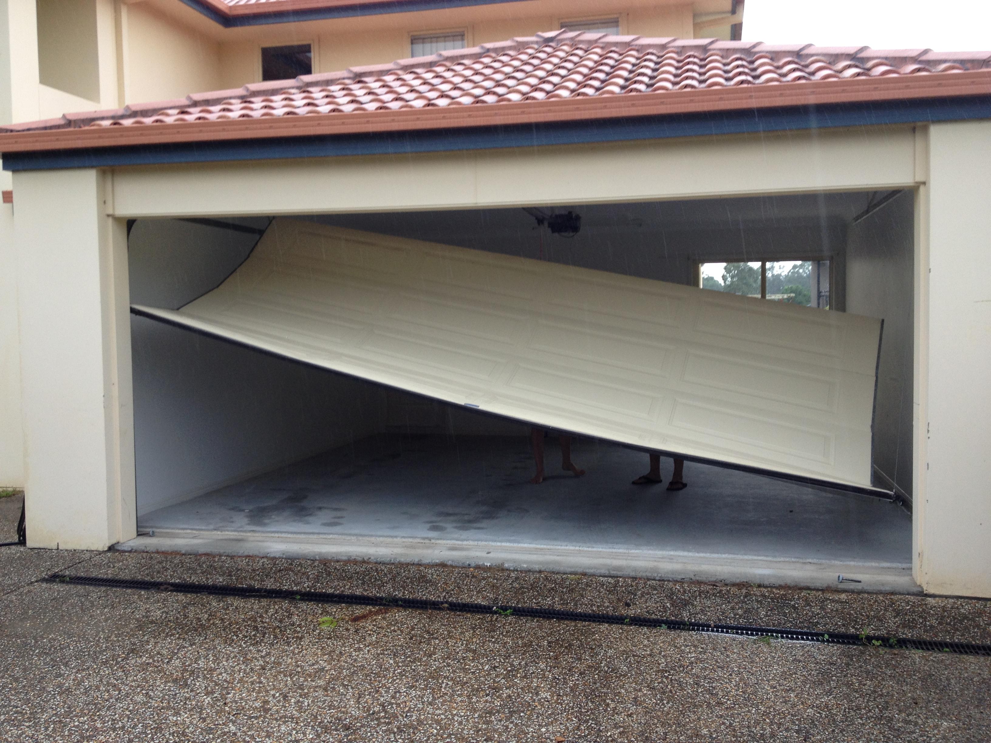 Will this happen to your garage door adept garage doors and gates rubansaba
