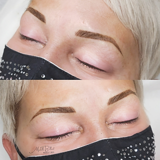 6 week touchup combo brow