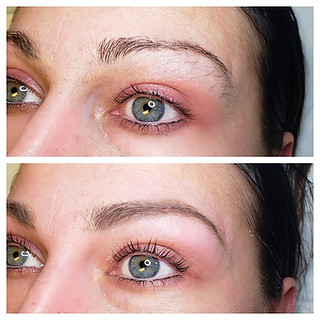 Lash Lift and Eyebrow wax