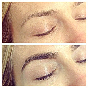 Brow Tinting and Lash Tinting